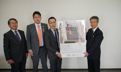ヘルプマーク周知用のポスターを福島市役所にお渡ししました