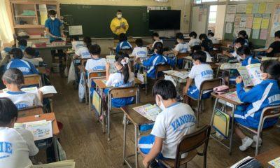 薬物乱用防止教室を開催しました。