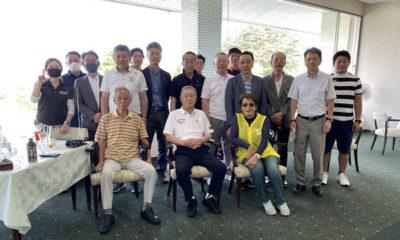 信陵ライオンズクラブ会長杯 ゴルフコンペを開催しました。